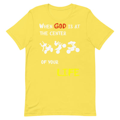 yellow Christian t-shirts Motocross