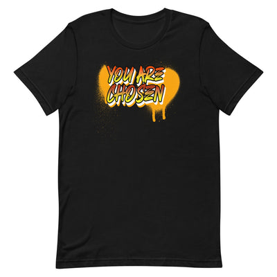 Christian black t-Shirt You are shosen ┼ Jesuslovingyou Brand