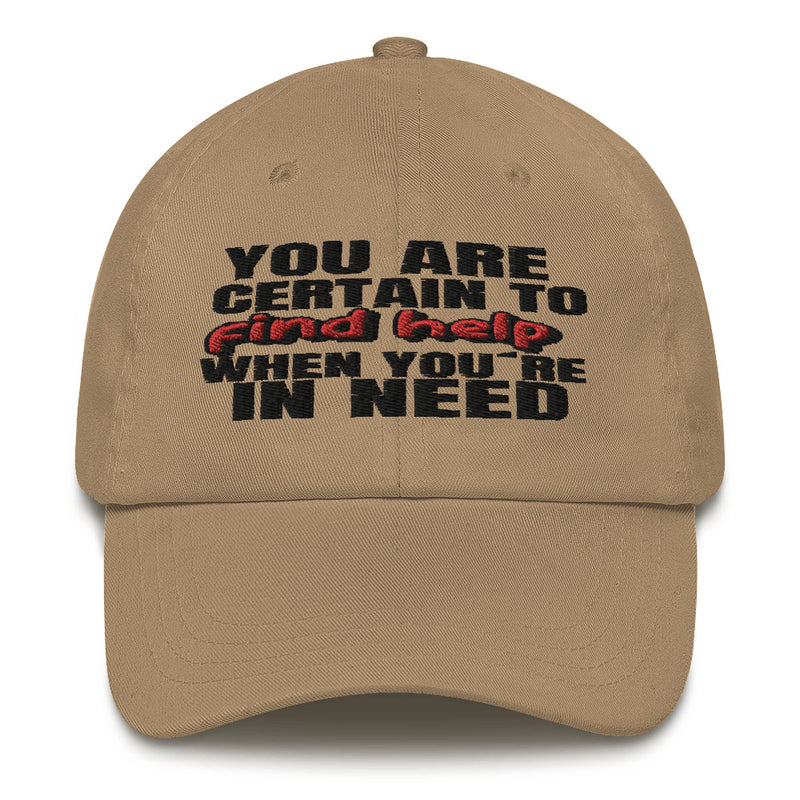 White dad Hat Christian Find Help jesuslovingyou Brand