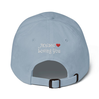 sky blue Hat Styles JESUS LOVES YOU-christ