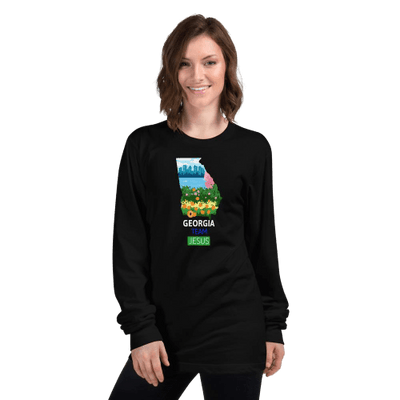 Women Long sleeve t-shirt Georgia ┼ Made in USA