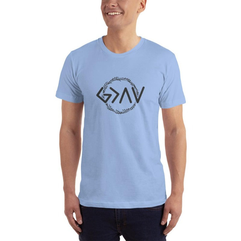 God is Greater than the Highs and Lows-t shirt