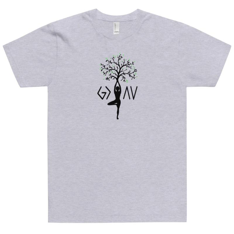 God is Greater than the Highs and Lows T-Shirt✞grey✞Tree of life