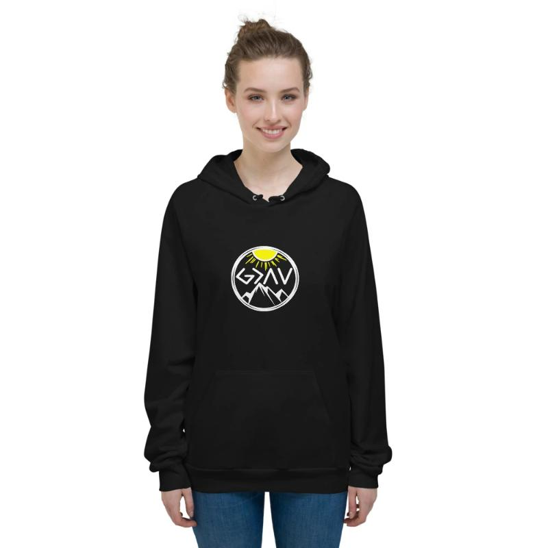God is greater than the highs and lows Hoodies-Mountain