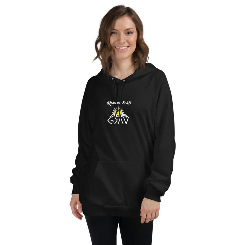 God is greater than the highs and lows Hoodies-sun-Mountain