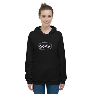 God is greater than the highs and lows Hoodies-God is Greater-women