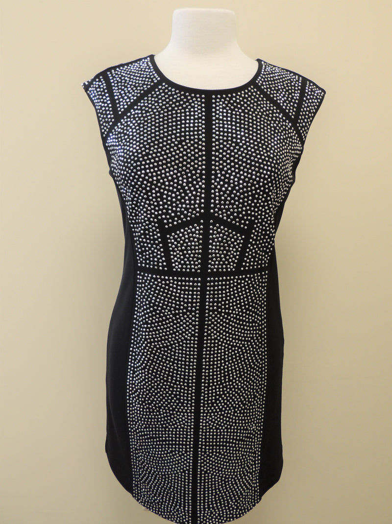 Etcetera Black/Silver Studded Dress (6)