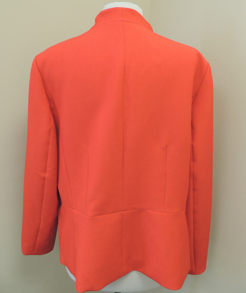 NEW Talbots Red Open-Front Blazer (Size 20)