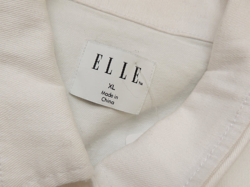Elle White Jean Jacket (XL)