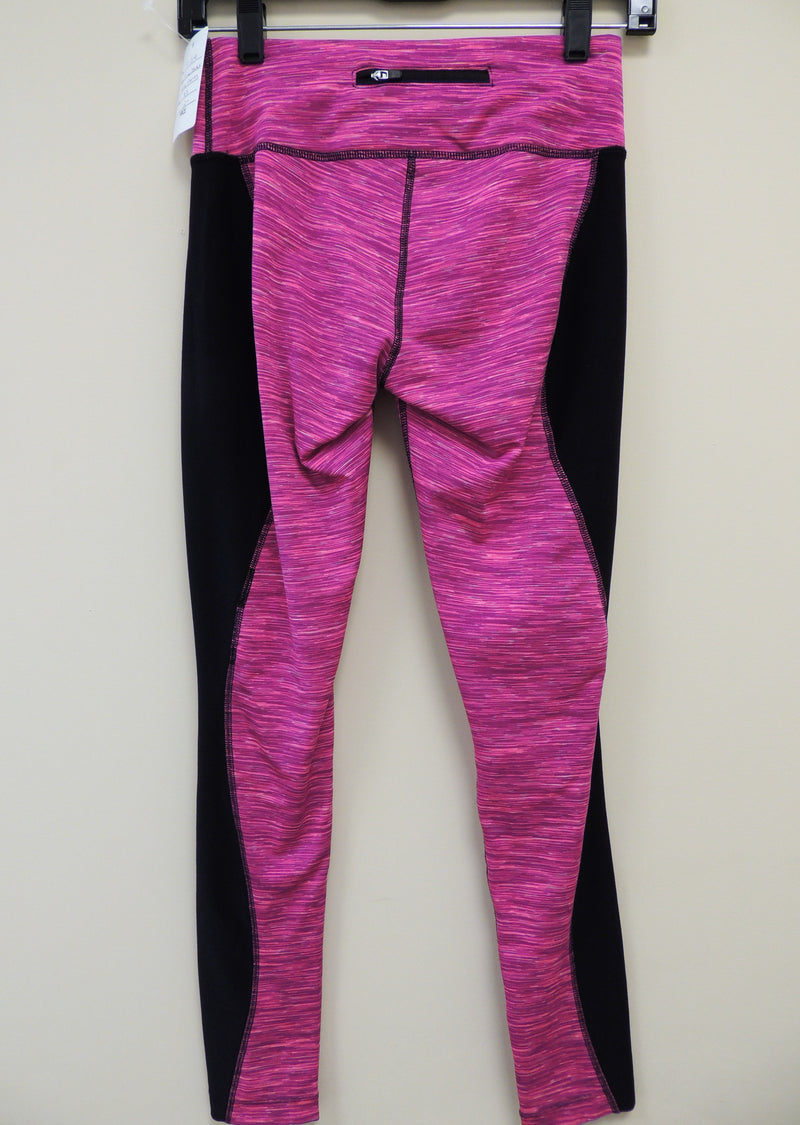 Pink/Black Active Leggings (XS)