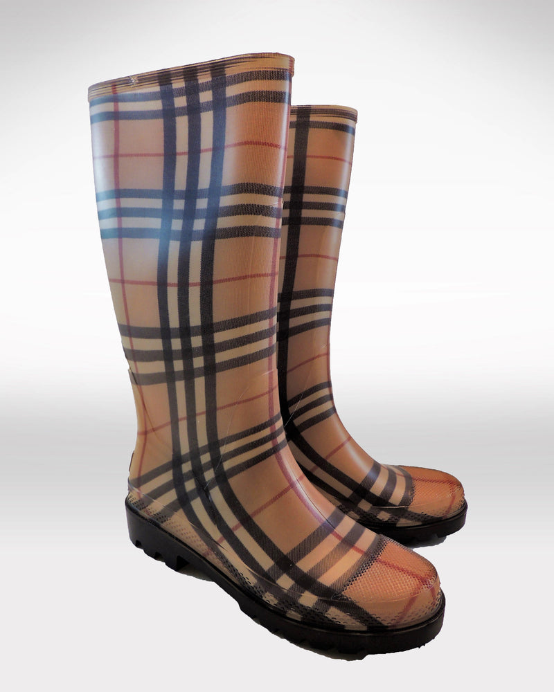 NEW Burberry Tall Rain Boots (6)