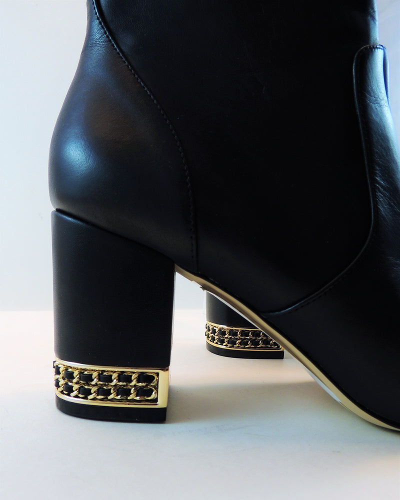 Karl Lagerfeld Sophie Black Booties (9)