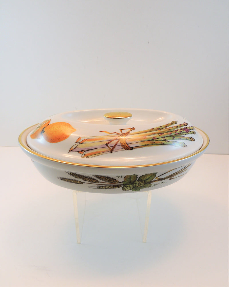 Royal Worchester Covered Dish