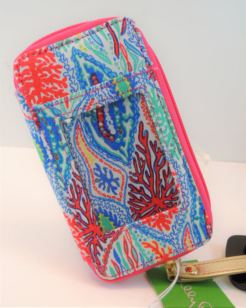 New Lilly Pulitzer ID Card & Smart Phone Wristlet