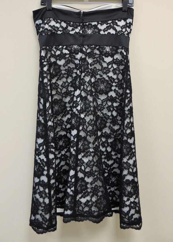 White House | Black Market Strapless Lace Dress (4)