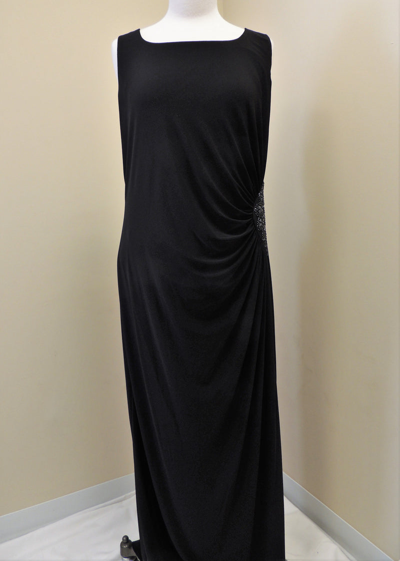 NEW Black Evening Gown w/ Jacket (18)