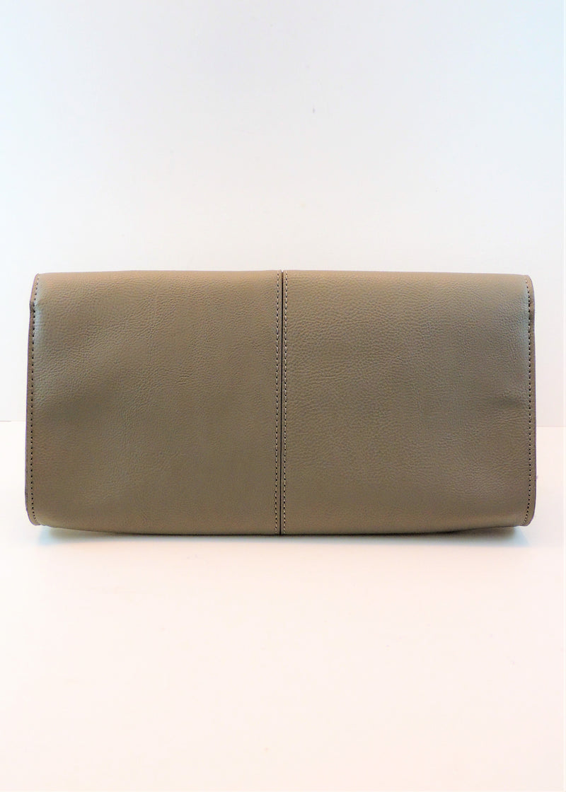 NEW BCBG Tan Clutch