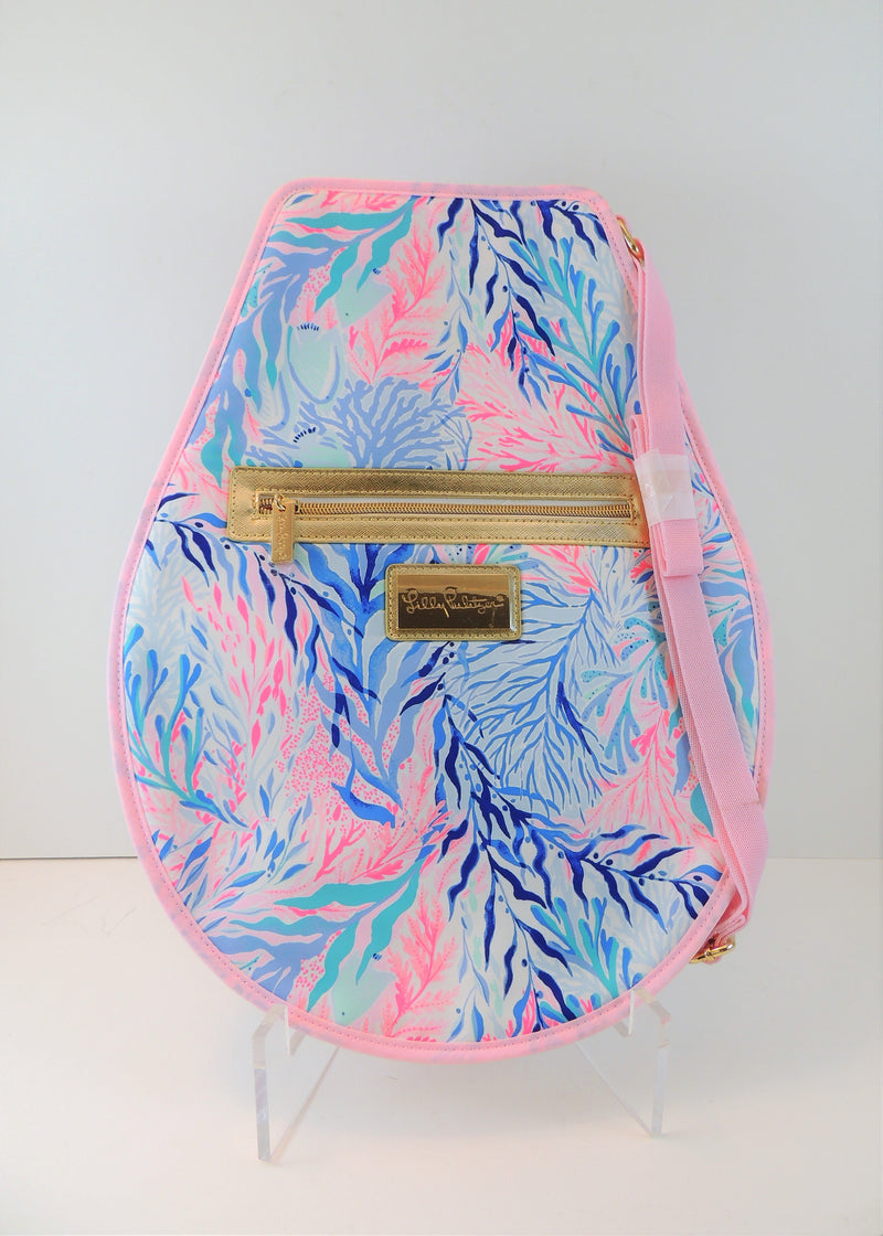 NEW Lilly Pulitzer Tennis Racket Cover