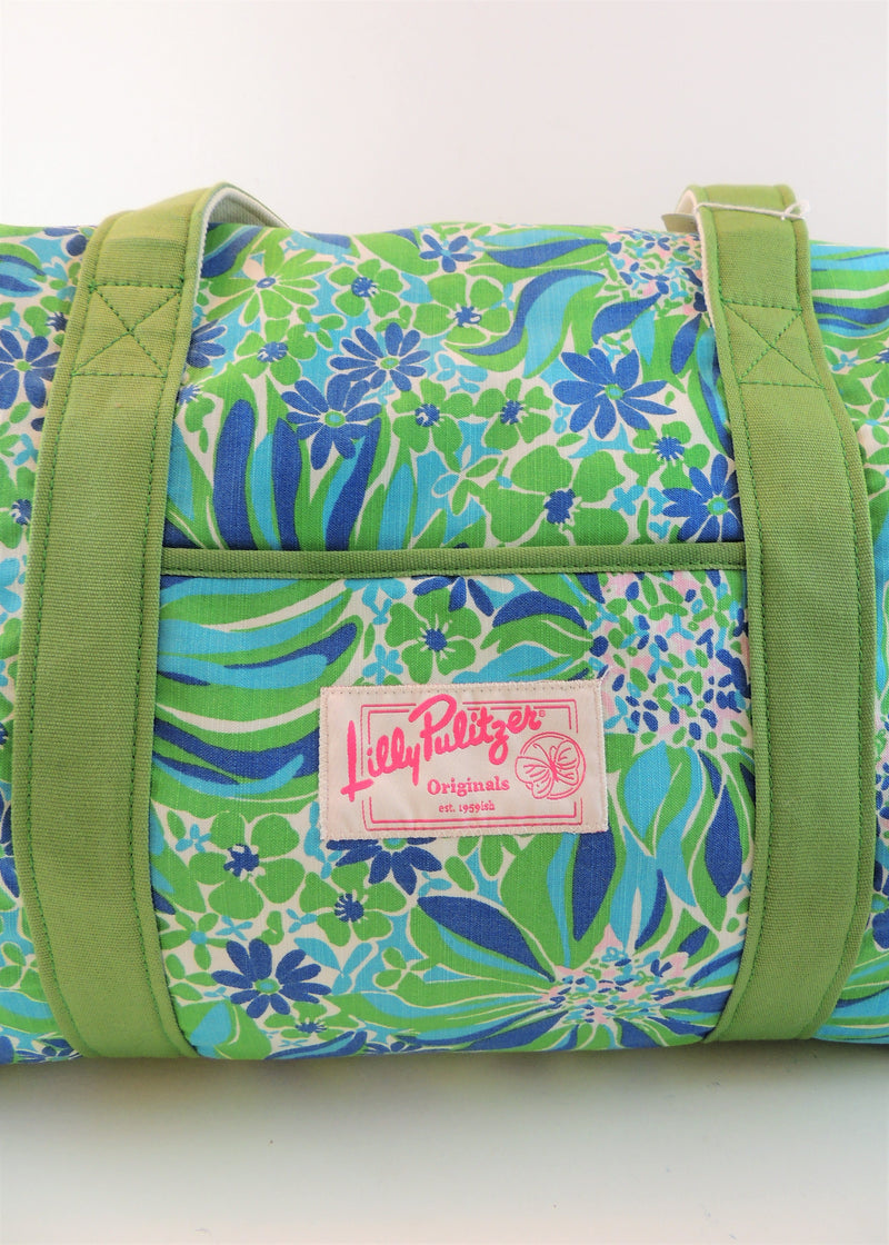 Lilly Pulitzer Floral Duffel Bag