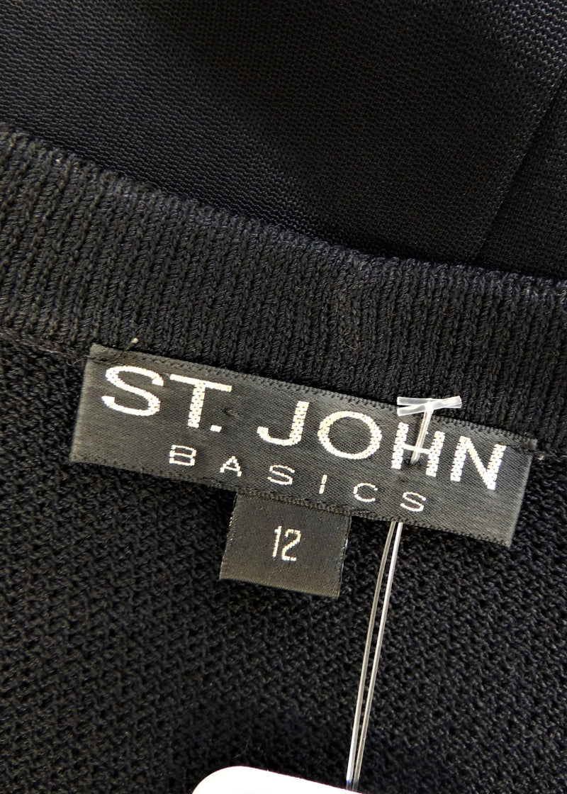 St. John Long Black Sweater (12)