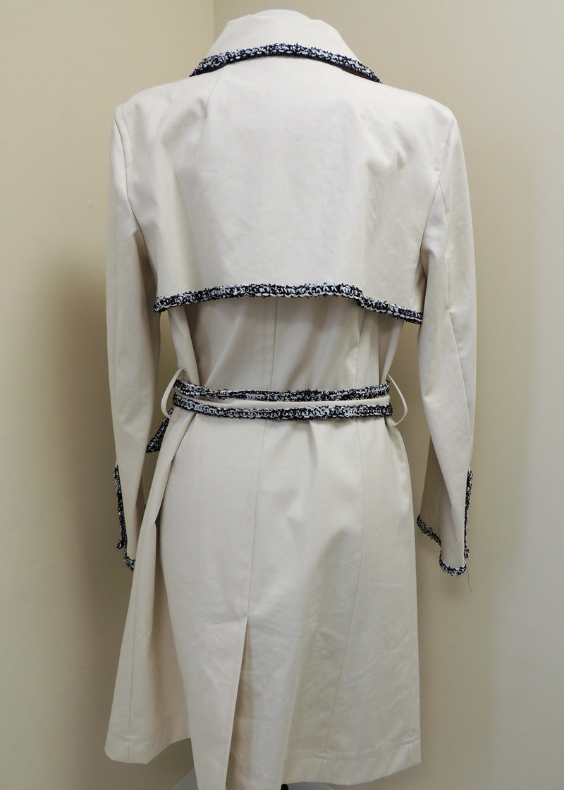 St. John Creme Jacket w/ Black Trim (10)