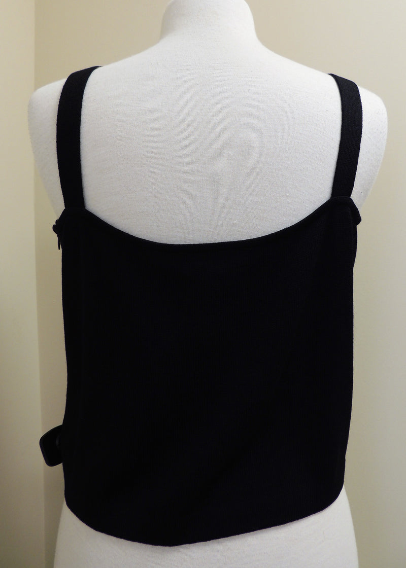 St. John Black Tank Top (L)