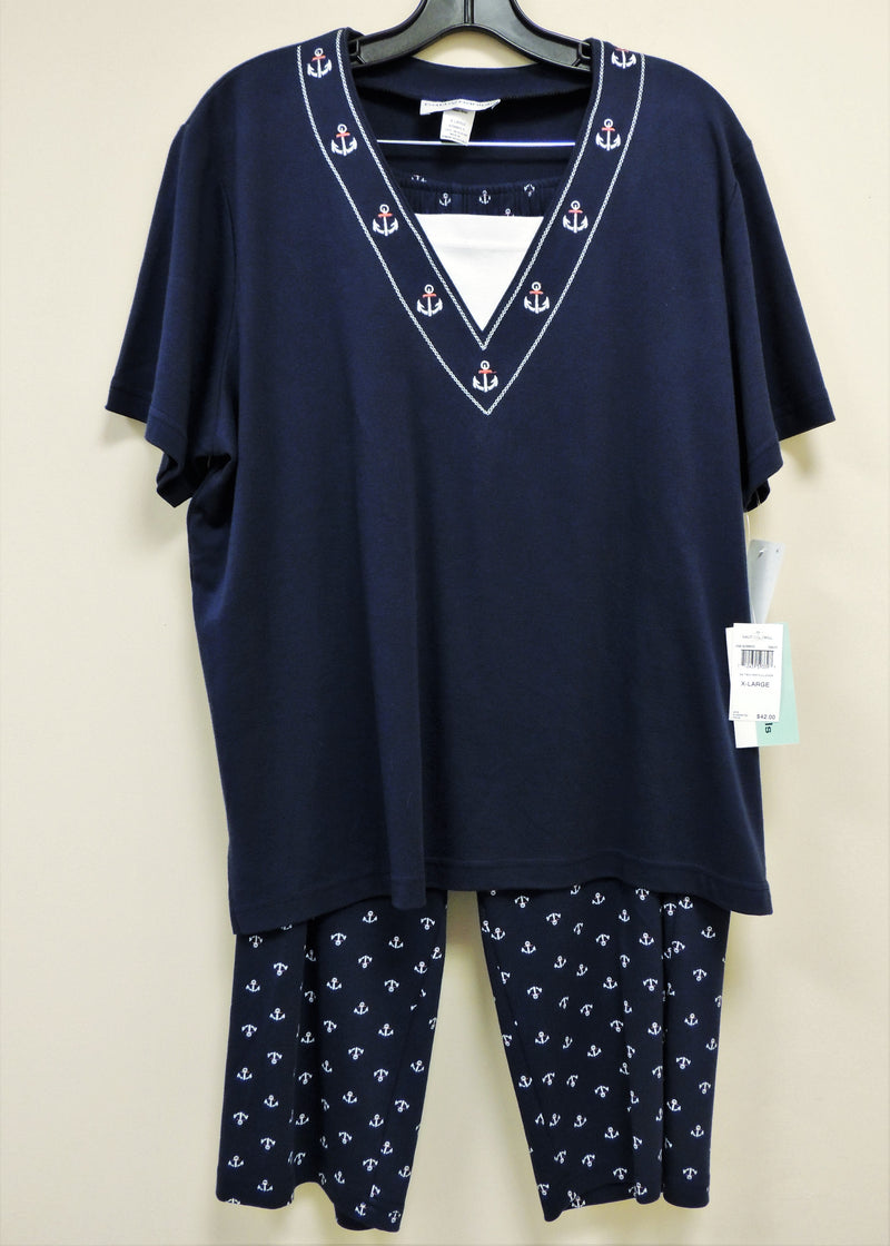 NEW Navy Pant Set (XL)