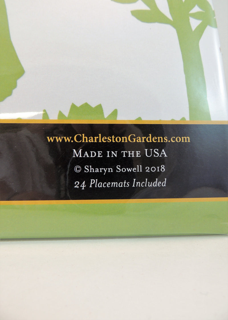 NEW Charleston Gardens 24 ct Paper Placemats