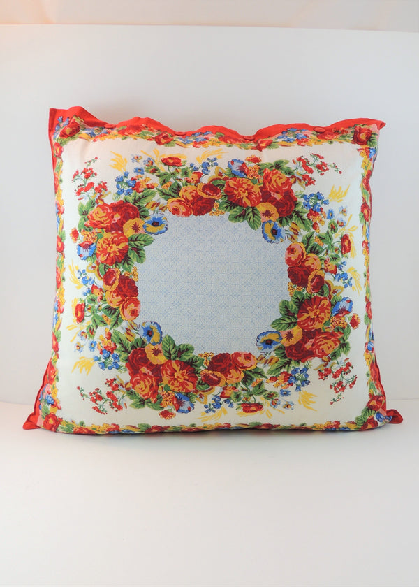 April Cornell Marion Multi-color Pillow