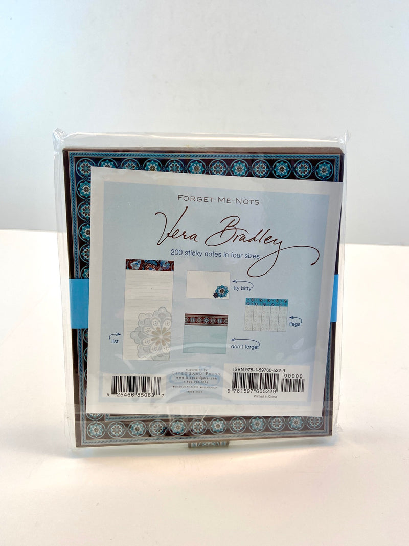 Vera Bradley 'Forget-Me-Nots' Sticky Notes