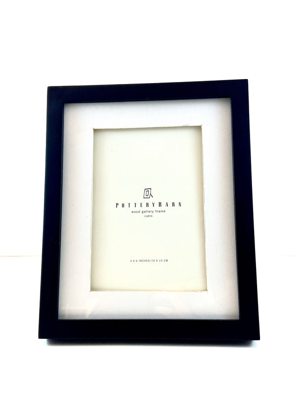 "Pottery Barn Wood Gallery Frame (4""x6"")"