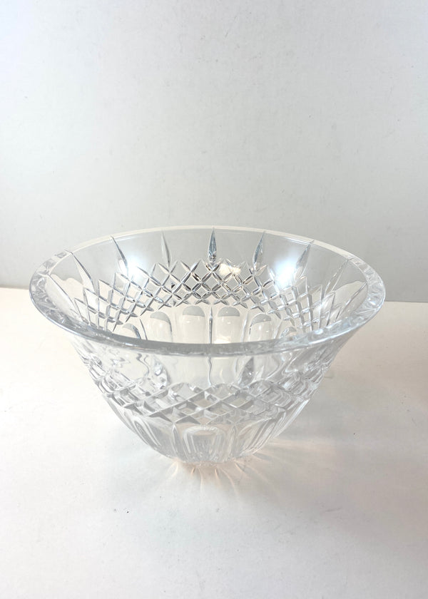 "Waterford Marquis Glass Bowl (8"")"