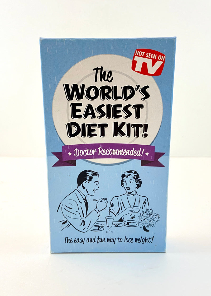 """World's Easiest Diet Kit"" Decorative Set"