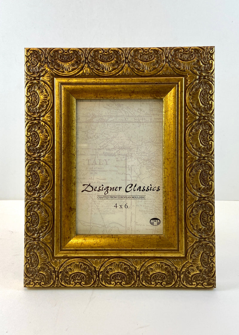Gold Tone Photo Frame (4x6)
