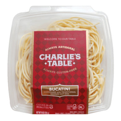 Gluten-Free Pasta Bucatini - Charlie's Table