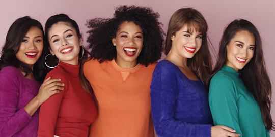 Group Shot for PDL Cosmetics Women Lipstick