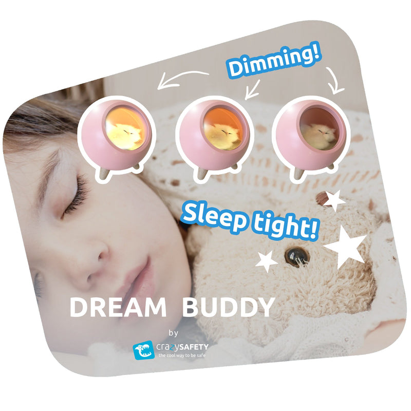 Dream Buddy LED Natlampe - Grøn