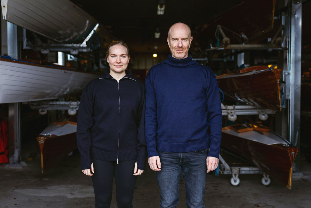 Marie and Sebastian from the Danish Students' Rowing Club
