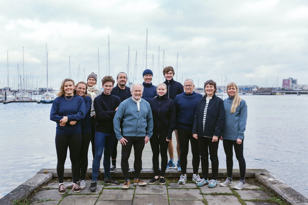 Members of the Danish Students' Rowing Club
