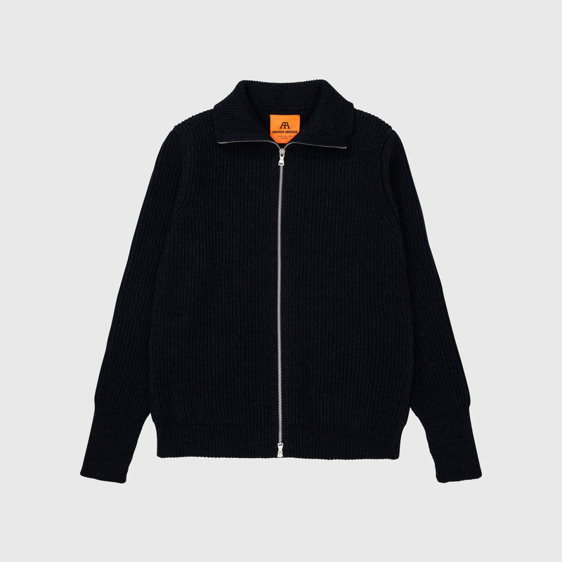 Navy Full-Zip