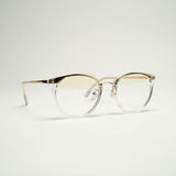 Bailey Clear Blue Light Glasses by Opticals Online