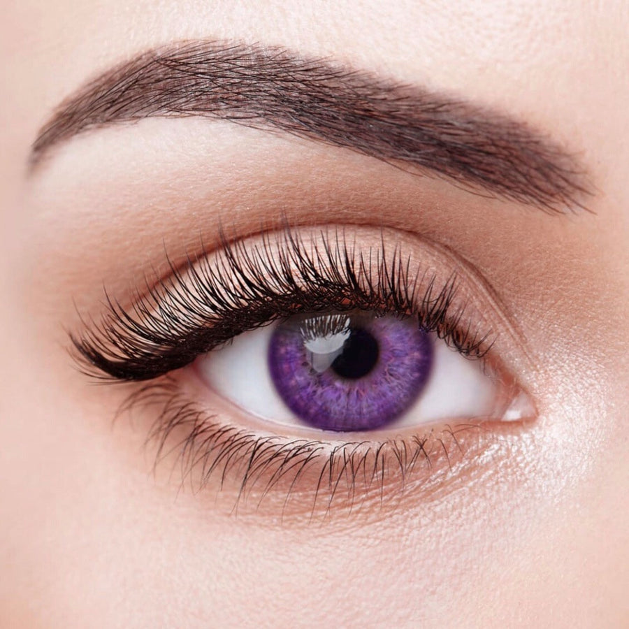 Violet Colored Contact Lenses (12 Month) - Opticals Online