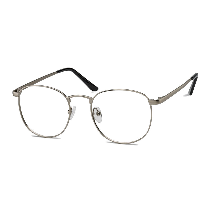 Ashton Silver Blue Light - Opticals Online