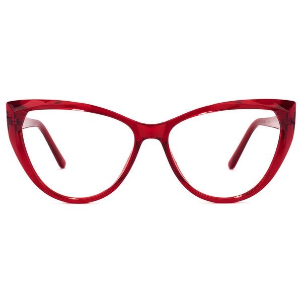 Lorna Crimson Blue Light Glasses