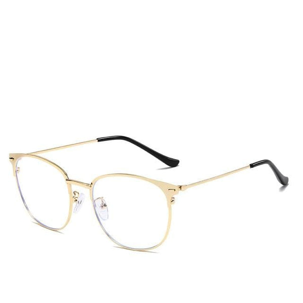 Amelie Gold Blue Light - Opticals Online