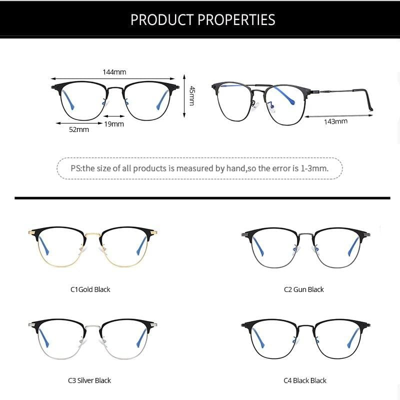 Elias Gold Splice Blue Light - Opticals Online