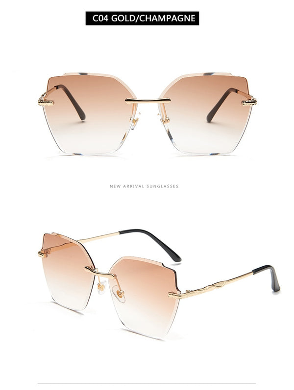 Chloe Light Pink Sunglasses