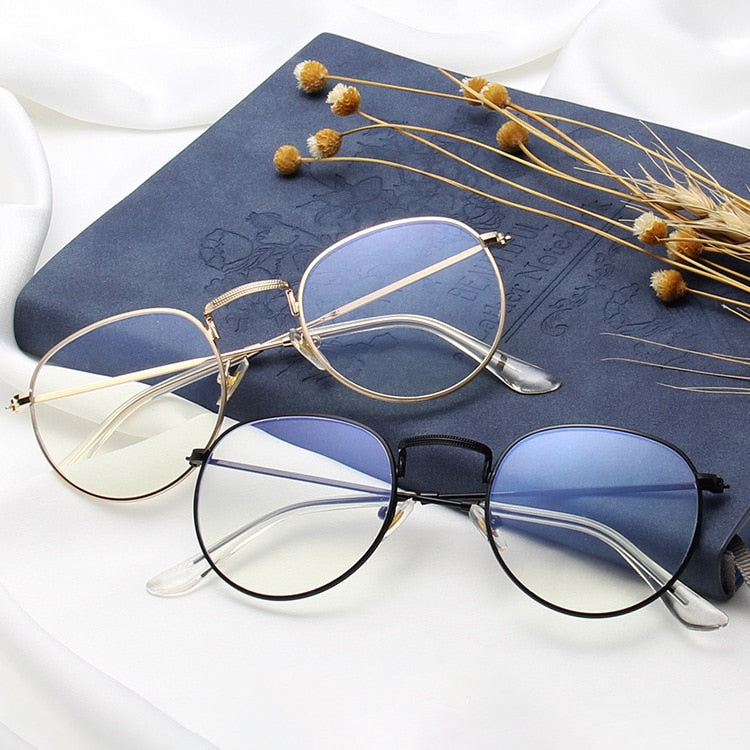 Ashton Gold Blue Light - Opticals Online