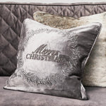 Classic Christmas Wreath Pillow Cover - Südstrand