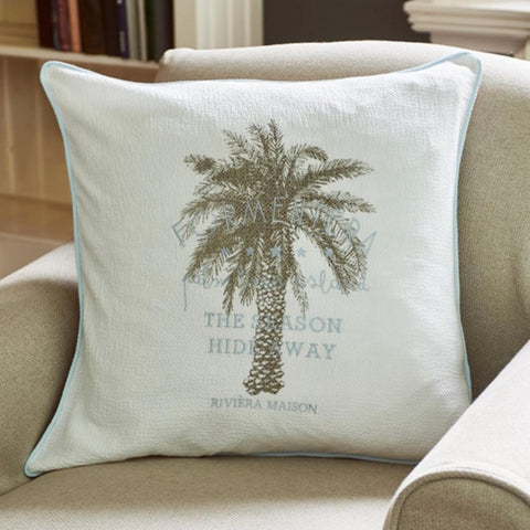 Formentera Palm Tree Pillow Cover - Südstrand